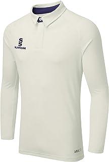 Surridge Sports 男式 Ergo 长袖板球衬衫