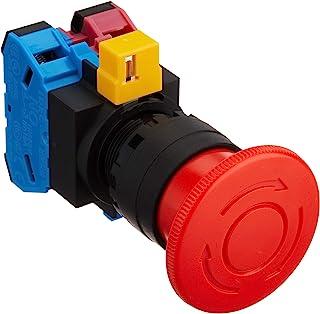 IDEC φ22HW系列 紧急停止用按钮开关(φ40大形) 1a-1b 纽扣色(红色)HW1B-V411R 红色