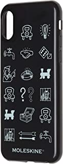 Case Hard Iphone X Monopoly Icons