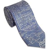 Josh Bach 男士物理学,工程,数学配方丝绸领带,美国制造