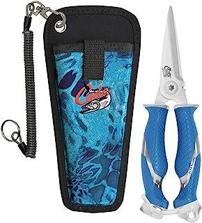 Cuda Snips,8 英寸钛合金 Prym1 护套和挂绳,蓝色
