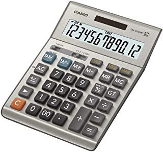 Casio 计算器 桌面计算器 银色