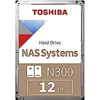 "Toshiba HDD 8"" 对开式 黑色HDWG21CUZSVA NAS 12TB"