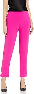 AX Armani Exchange 女式定制绉布长裤,带纽扣