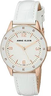 Anne Klein 女士鳄鱼纹皮革表带手表 AK/3734