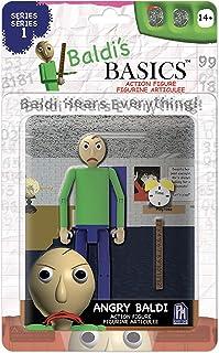 "Baldi's Basics 可动人偶(愤怒的Baldi),多色,5""(约12.7厘米)"