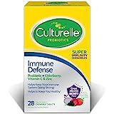 Culturelle Immune Defense, Probiotic + Elderberry, Vitamin C…