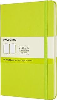 Moleskine 经典笔记本 硬皮 普通 柠檬绿