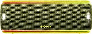 Sony 索尼 SRS-XB31 便携式无线蓝牙音箱(彩色灯条,超低音,NFC,防水,长达 24 小时的电池使用时间)SRSXB31Y.CE7