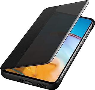 Huawei P40 Smart View 翻盖手机套,原装配件,黑色