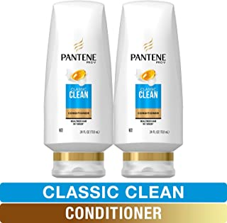 Pantene Pro-V Classic Clean Conditioner, 24 fl oz (Pack of 2)