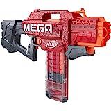 Hasbro 孩之宝 NERF 热火 Mega Motostryke 电动10镖冲击枪-包括10个官方Nerf Mega…