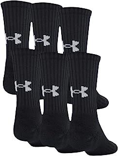 Under Armour 安德瑪 青少年棉質船襪,6 雙裝