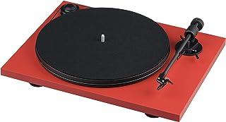 """Pro-Ject """"Primary"""" E FR 乙烯基唱片机 正常红色"""