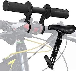 Fovolat 自行车配件儿童户外旅行自行车握把儿童自行车便携式儿童 MTB 车把附件易于安装和拆卸,适合所有自行车