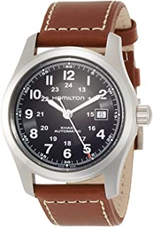 Hamilton 男式卡其色域自动原装手表 #H70555533_Orig