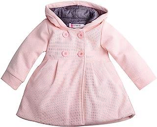 Baby Toddler 女孩秋冬风衣防风连帽夹克儿童外套