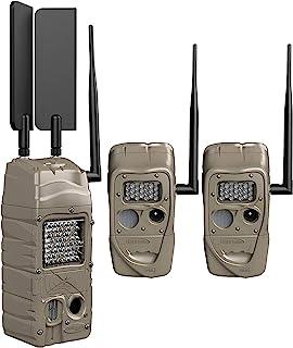 Cuddeback CuddeLink 2+1 手机入门套件 - Verizon Trail 相机,棕色,11544