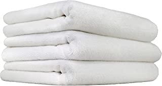 Chemical Guys MIC_801_03 Monster 无边超细纤维毛巾,白色(40.64 厘米 x 40.64 厘米)(3 件装)