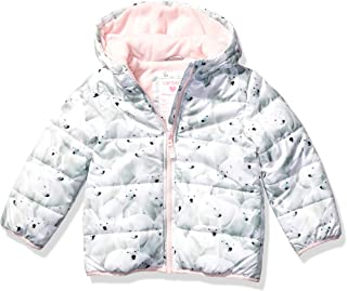 Carter's 卡特女童羊毛内衬羽绒服外套