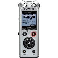 Olympus LS - P1 PCM 音乐 & Voice Recorder , microSD Slot 银白色 4…