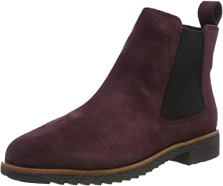 Clarks Griffin Plaza Burgundy 绒面革短靴