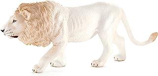 MOJO Fun 387206 Male White Lion - Realistic International Wildlife Toy Replica