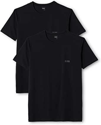 HUGO BOSS 男士T恤 Rn Co/El(2件装)