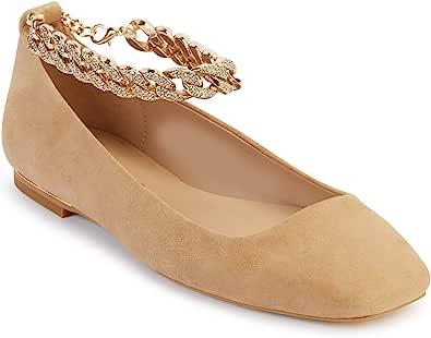 Karl Lagerfeld Paris 女士 Zanna 芭蕾平底鞋