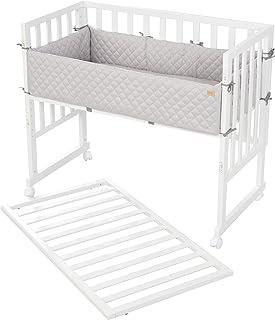 roba 围栏 3 合 1 风格,适用于所有父母高度,包括床垫床和屏障8961WE8V230,白色