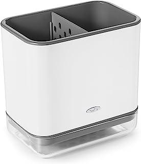 OXO Good Grips 塑料水槽商品收纳盒,白色,14.8 x 9.9 x 14.2厘米