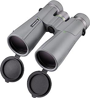 Bresser 宝视德 双筒望远镜 10 × 50 Wave,防水,带 BaK-4 玻璃,防紫外线和眼镜佩戴目镜,适用于黄昏和天文学