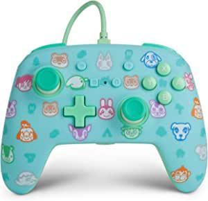 *版有线PowerA控制器,适用于 Nintendo Switch - Animal Crossing