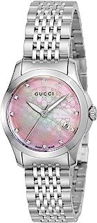[古驰]GUCCI 腕表 G Timeless 粉珍珠色表盘 YA126534 女士
