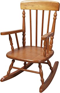 Gift Mark Deluxe Children's Spindle Rocking Chair 蜂蜜