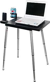 Tabletote Plus 黑色便携式紧凑轻质可调节高度笔记本电脑支架
