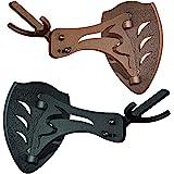 骷髅挂钩欧洲*杯挂架 - 适用于悬挂和安装租车鹿鹿鹿角和其他用于展示的骷髅 - 有石墨黑和坚固棕色