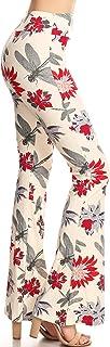 Leggings Depot 女式流行印花高级慢跑裤和时尚阔腿裤
