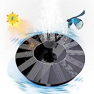 [带电池备用] *版太阳能鸟沐浴喷泉泵,3W 太阳能*水泵,带 16 个喷嘴配件,浮动喷泉泵,适用于鸟类浴缸、池塘、水族箱和花园