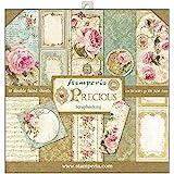 Stamperia - 12 x 12 纸垫 - 珍贵