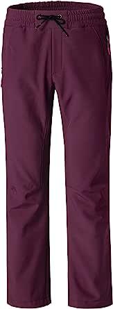 Wantdo 女式羊毛保暖户外滑雪软壳防风裤子