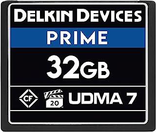 Delkin 设备 32GB Prime CompactFlash VPG-20 存储卡