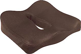 人体工程学坐垫 低回弹三维形状坐垫 棕色