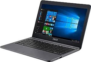 ASUS 华硕 小型笔记本电脑 L203NA(11.6英寸,980克/英特尔 Celeron N3350/4GB, 64GB/Web相机/WPS office/星星灰色/日语键盘/Windows 10 Home (S 模式))L203NA-FD126T