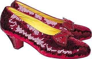 Paper House Productions M-0214E 模切冰箱磁铁,绿野仙踪- 红宝石拖鞋(6 件装)