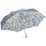 Pasotti Ombrelli 蓝色花朵折叠伞