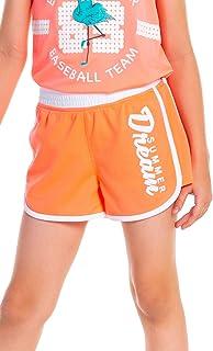 M.D.K 女童夏季梦弹性腰带运动休闲运动短裤