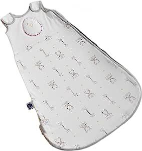 Nested Bean Zen Sack Premier - 70% 竹纤维婴儿睡袋 | 可调节可穿睡袋 Starry Safari 3-6 Months