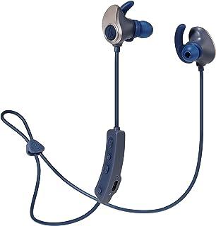 audio-technica SONICSPORT 无线耳机 防水 / 运动 内置4GB内存 Bluetooth 遥控/带麦克风 金*蓝 ATH-SPORT90BT GNV