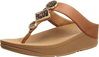 FitFlop 女士 Leia 趾夹趾凉鞋